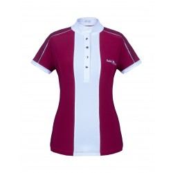 Fair Play wedstrijdshirt Claire Burgundy