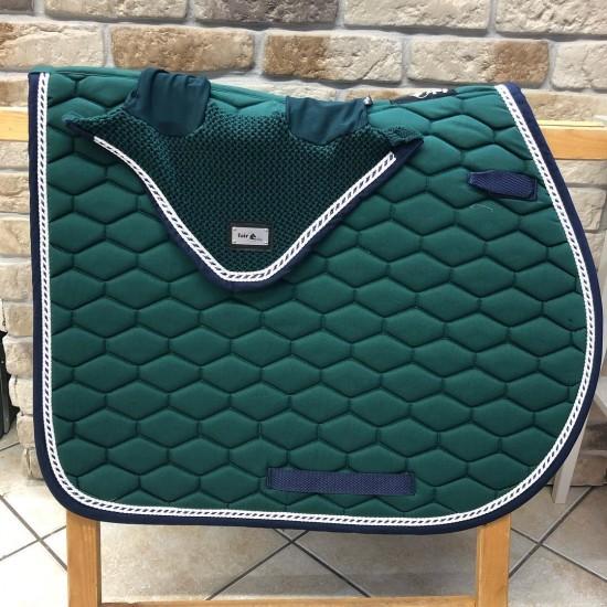 Fair Play sjabrak Hexagon dubbel koord groen