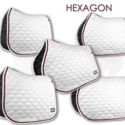 Fair Play sjabrak Hexagon dubbel koord wit