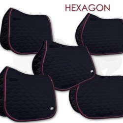 Fair Play sjabrak Hexagon dubbel koord zwart