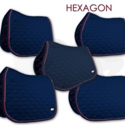 Fair Play sjabrak Hexagon dubbel koord navy
