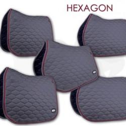 Fair Play sjabrak Hexagon dubbel koord grijs