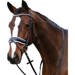 Horse Guard hoofdstel Ergo wit onderlegd