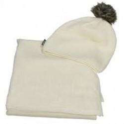 hv-polo muts en sjaal sequin